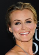 Actress Taylor Schilling poses on arriva