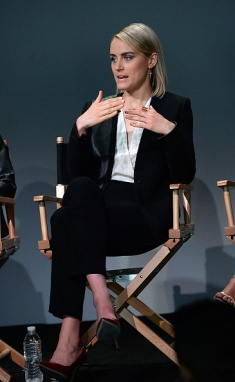 <> at Apple Store Soho on April 21, 2015 in New York City.