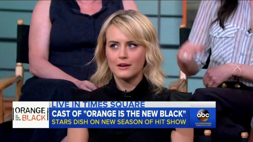 Orange Is the New Black Cast Take Over on GMA.mp4_20160620_173403.107